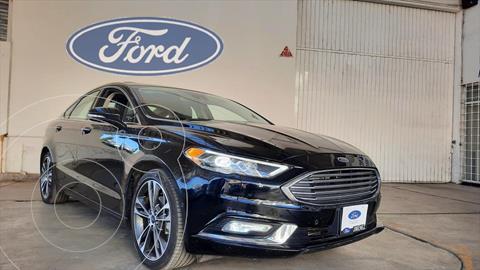 Ford Fusion Titanium usado (2018) color Negro precio $398,000