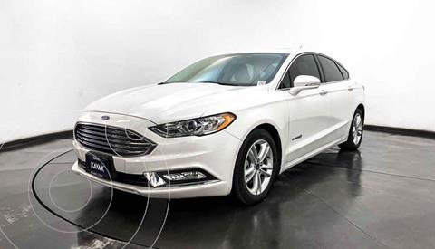 Ford Fusion SE LUX Hibrido usado (2018) color Blanco precio $389,999