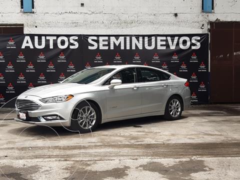 Ford Fusion SE LUX Hibrido usado (2017) color Gris precio $315,000