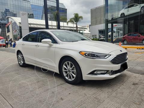Ford Fusion Titanium usado (2018) color Blanco precio $345,000
