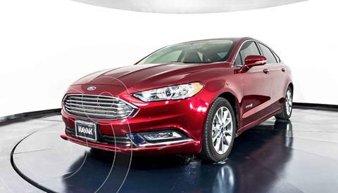 Ford Fusion SE Aut usado (2018) color Rojo precio $327,999