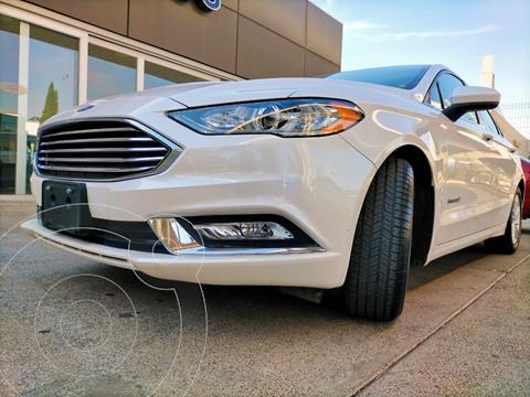 Ford Fusion SE Hibrido usado (2018) color Blanco Platinado precio $359,900