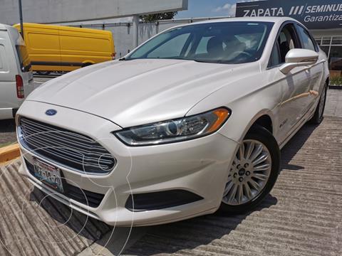 Ford Fusion SE Hibrido usado (2016) color Blanco Oxford precio $270,000