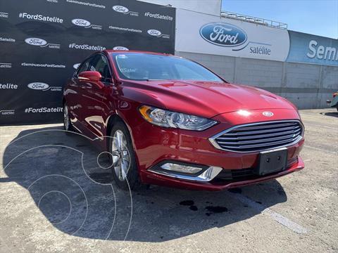 Ford Fusion SE LUX Hibrido usado (2017) color Rojo precio $350,000