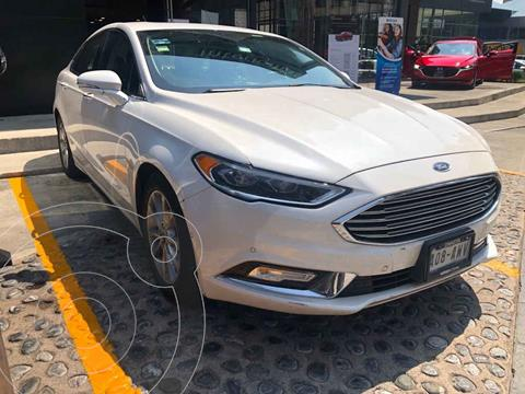 Ford Fusion Titanium Plus usado (2018) color Blanco precio $350,000