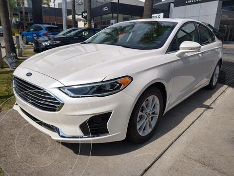 Ford Fusion SEL Hibrido usado (2020) color Blanco Platinado precio $595,000