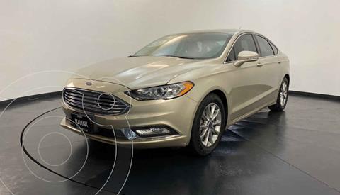 Ford Fusion SE Aut usado (2018) color Dorado precio $354,999