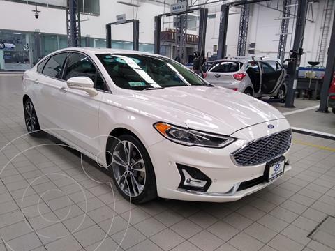 Ford Fusion Titanium usado (2019) color Blanco precio $425,000