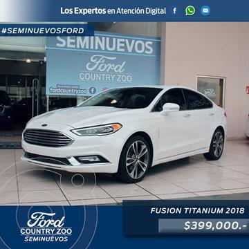 Ford Fusion Titanium usado (2018) color Blanco precio $399,000