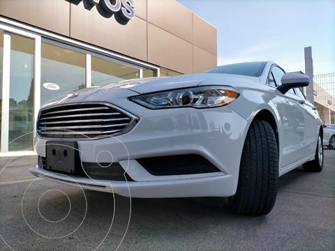 Ford Fusion S usado (2018) color Blanco Oxford precio $314,900