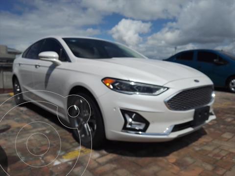 Ford Fusion Titanium usado (2020) color Blanco precio $539,900