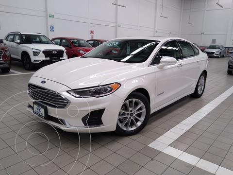 Ford Fusion SE LUX Hibrido usado (2019) color Blanco precio $435,000