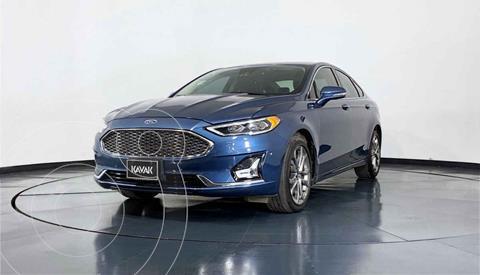Ford Fusion Titanium usado (2019) color Azul precio $412,999