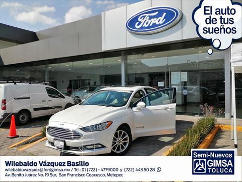 Ford Fusion 4P SE HIBRIDO LUXURY AUT usado (2017) color Blanco precio $334,000