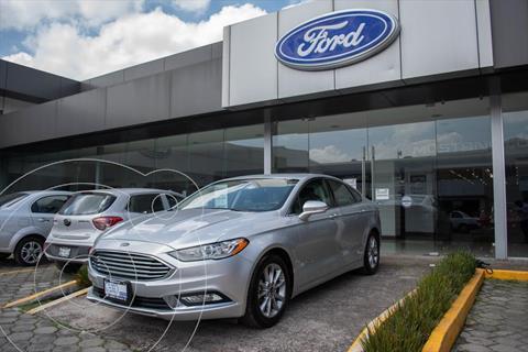 Ford Fusion SE LUX Hibrido usado (2017) color Plata precio $335,000