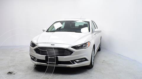 Ford Fusion SE LUX Hibrido usado (2017) color Blanco precio $310,000