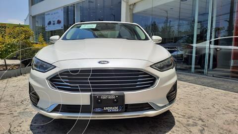 Ford Fusion SE LUX Hibrido usado (2020) color Blanco precio $599,000