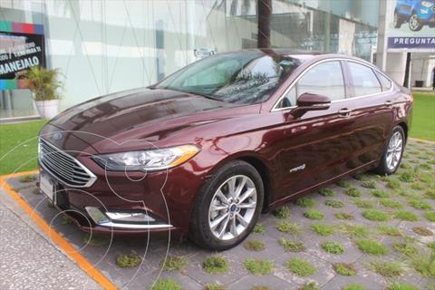 Ford Fusion SE Hibrido usado (2017) color Rojo precio $345,000