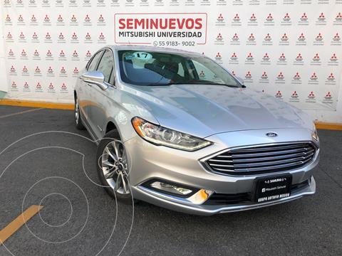 Ford Fusion SE LUX Hibrido usado (2017) color Plata Estelar precio $310,000