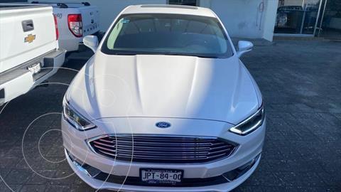 Ford Fusion Titanium usado (2018) color Blanco precio $389,000