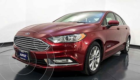 Ford Fusion SE Aut usado (2018) color Rojo precio $307,999