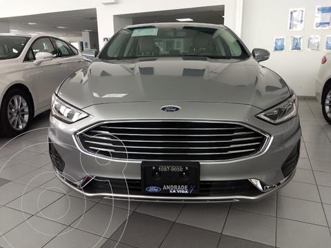 Ford Fusion SE LUX Hibrido usado (2020) color Plata Dorado precio $590,000