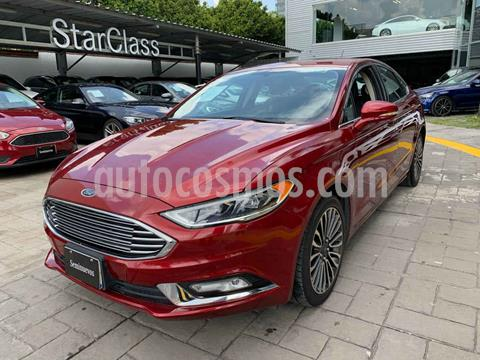 Ford Fusion SE Luxury Plus usado (2017) color Vino Tinto precio $335,000