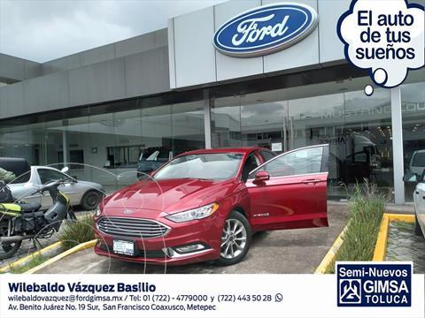 Ford Fusion SE LUX Hibrido usado (2017) color Rojo precio $325,000