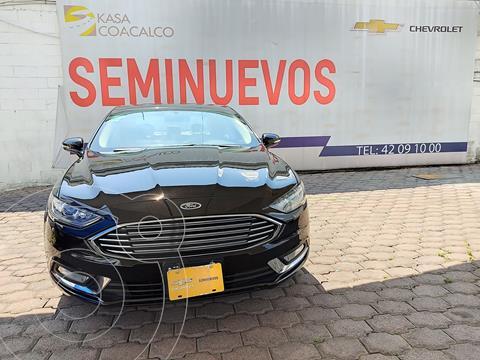 Ford Fusion SE LUX Hibrido usado (2017) color Negro precio $360,000