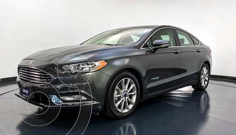 Ford Fusion SE Aut usado (2018) color Gris precio $349,999
