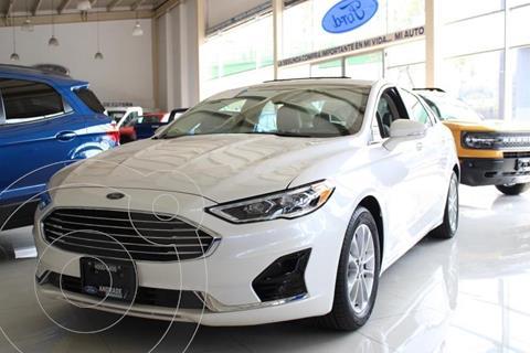 Ford Fusion SE LUX Hibrido usado (2020) color Blanco precio $590,000