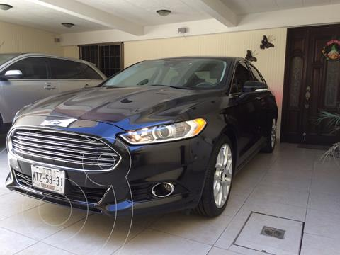 Ford Fusion Titanium Plus usado (2014) color Negro precio $180,000
