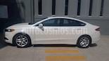 Foto venta Auto usado Ford Fusion SE Advance (2016) color Blanco Oxford precio $215,000