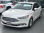 Foto venta Auto usado Ford Fusion SE Hibrido (2017) color Blanco Platinado precio $300,000