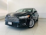 Foto venta Auto usado Ford Fusion SE Luxury (2014) color Negro Profundo precio $189,900