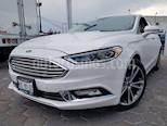 Foto venta Auto usado Ford Fusion Titanium (2017) color Blanco Platinado precio $345,000
