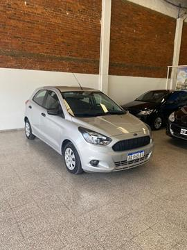 Ford Ka 1.5L S usado (2018) color Gris financiado en cuotas(anticipo $625.000)