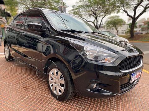 Ford Ka 1.5L S usado (2017) color Negro financiado en cuotas(anticipo $770.000)