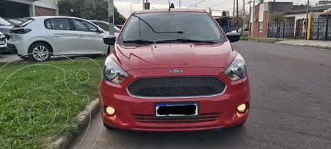 Ford Ka 1.5L S usado (2018) color Rojo Merlot precio $1.280.000