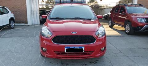 Ford Ka 1.5L S usado (2017) color Rojo Merlot precio $1.390.000