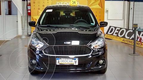 Ford Ka 1.5L S usado (2016) color Negro Ebony precio $1.150.000