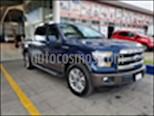 Foto venta Auto usado Ford Lobo Doble Cabina Lariat 4x4 (2017) color Azul Marino precio $635,000