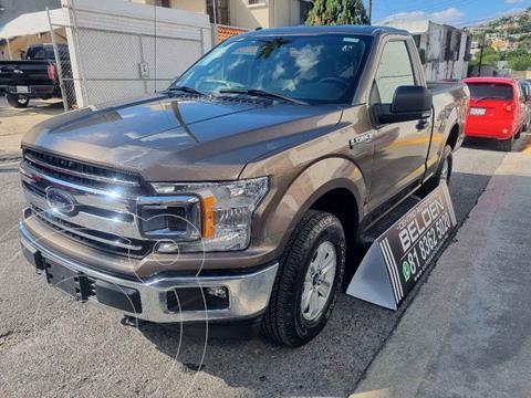 Ford Lobo Cabina Regular XLT 4x4 V8 usado (2019) color Gris precio $668,000
