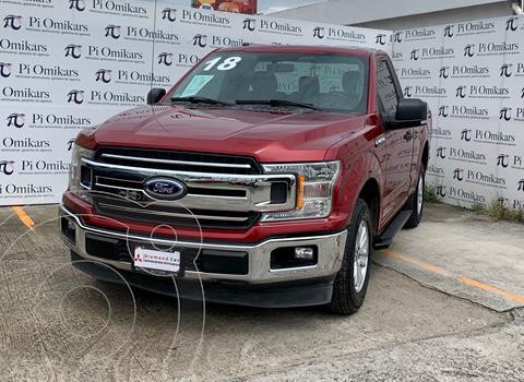 Ford Lobo Cabina Regular XLT 4x2 V8 usado (2018) color Rojo precio $485,000
