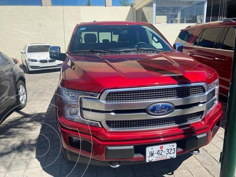 Ford Lobo Doble Cabina Platinum 4x4 usado (2019) color Rojo precio $89,000