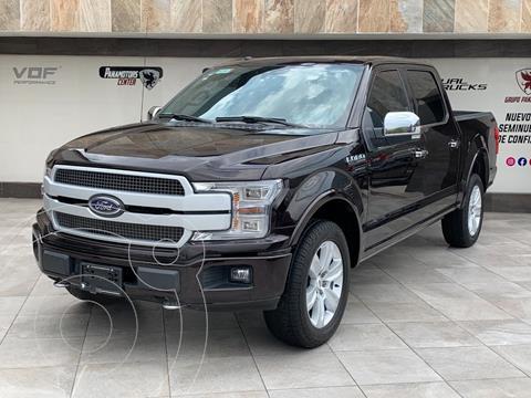 Ford Lobo Doble Cabina Platinum 4x4 usado (2018) color Negro precio $785,000