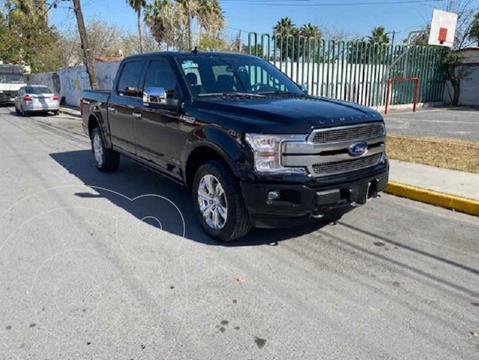Ford Lobo Platinum Crew Cab 4x4 usado (2020) color Negro precio $890,000