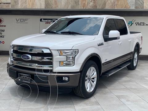 Ford Lobo Doble Cabina Lariat 4x2 usado (2016) color Blanco precio $565,000