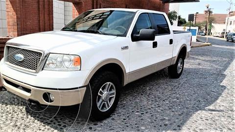 Ford Lobo Lariat Crew Cab 4x4 usado (2008) color Blanco precio $235,000