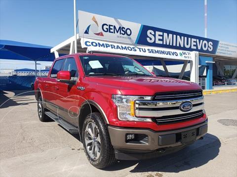 Ford Lobo LARIAT CREW CAB 4X4 3.5L GTDI usado (2020) color Rojo precio $830,000